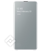 SAMSUNG CLEAR VIEW COVER WHITE GALAXY S10E