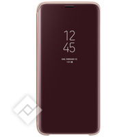 SAMSUNG Clear View Cover GLD S9