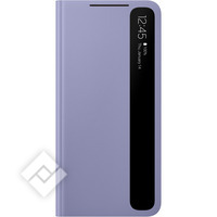 SAMSUNG CLEAR VIEW COVER S21 VIOLET