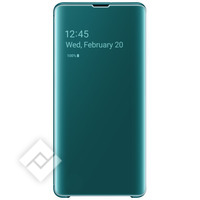 SAMSUNG CLEAR VIEW COVER GREEN GALAXY S10 PLUS