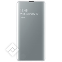 SAMSUNG CLEAR VIEW COVER WHITE GALAXY S10 PLUS