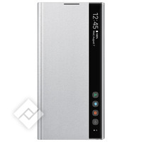 SAMSUNG CLEAR VIEW COVER SILVER FOR GALAXY NOTE 10