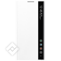 SAMSUNG CLEAR VIEW COVER WHITE FOR GALAXY NOTE 10PLUS