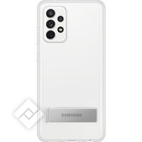 SAMSUNG CLEAR STANDING COVER TRANSPARENT A72