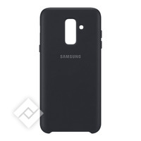 SAMSUNG DUAL LAYER COVER BLACK GALAXY A6 PLUS