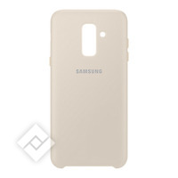 SAMSUNG DUAL LAYER COVER GOLD GALAXY A6 PLUS