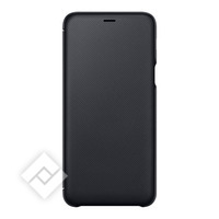 SAMSUNG FLIP WALLET BLACK GALAXY A6 PLUS