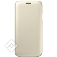 SAMSUNG FLIP WALLET  GOLD GALAXY J7 2017