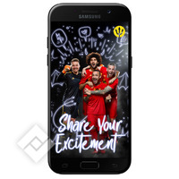 SAMSUNG GALAXY A5 BLACK RED DEVILS SMART COVER