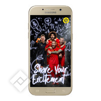 SAMSUNG GALAXY A5 GOLD RED DEVILS SMART COVER
