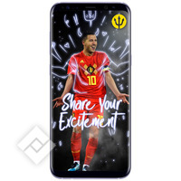 SAMSUNG GALAXY S8 PLUS GREY + RED DEVILS SMART COVER