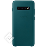 SAMSUNG LEATHER COVER GREEN GALAXY S10 PLUS