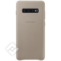 SAMSUNG LEATHER COVER GREY GALAXY S10 PLUS