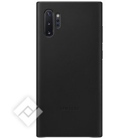 SAMSUNG LEATHER COVER BLACK FOR GALAXY NOTE 10PLUS