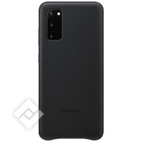 SAMSUNG Leather cover Black for Samsung Galaxy S20