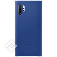 SAMSUNG LEATHER COVER BLUE FOR GALAXY NOTE 10PLUS