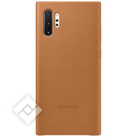 SAMSUNG LEATHER COVER CAMEL FOR GALAXY NOTE 10PLUS