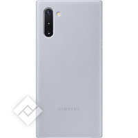 SAMSUNG LEATHER COVER GREY FOR GALAXY NOTE 10