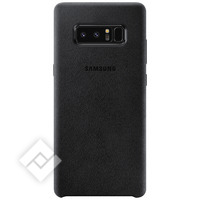 SAMSUNG ALCANTARA LEATHER COVER BLACK GALAXY NOTE 8