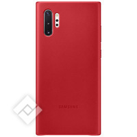 SAMSUNG LEATHER COVER RED FOR GALAXY NOTE 10PLUS