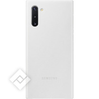 SAMSUNG LEATHER COVER WHITE FOR GALAXY NOTE 10