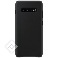 SAMSUNG LEATHER COVER BLACK GALAXY S10 PLUS