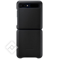 SAMSUNG LEATHER COVER BLACK