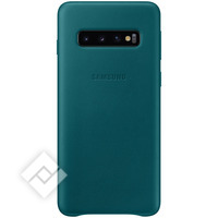 SAMSUNG LEATHER COVER GREEN GALAXY S10