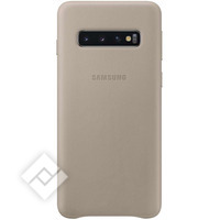 SAMSUNG LEATHER COVER GREY GALAXY S10