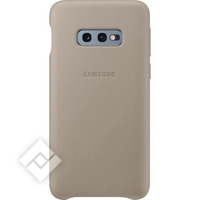SAMSUNG LEATHER COVER GREY GALAXY S10E