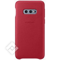 SAMSUNG LEATHER COVER RED GALAXY S10E