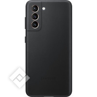 SAMSUNG LEATHER COVER S21 BLACK