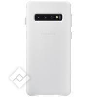 SAMSUNG LEATHER COVER WHITE GALAXY S10