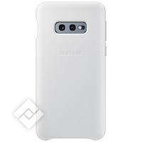 SAMSUNG LEATHER COVER WHITE GALAXY S10E
