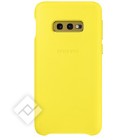 SAMSUNG LEATHER COVER YELLOW GALAXY S10E