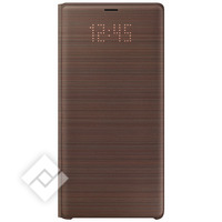 SAMSUNG LED VIEW COVER BROWN GALAXY NOTE 9