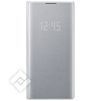SAMSUNG LED VIEW COVER SILVER FOR GALAXY NOTE 10PLUS
