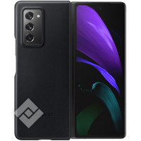 SAMSUNG LEATHER COVER BLACK GALAXY FOLD 2