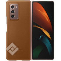 SAMSUNG LEATHER COVER BROWN GALAXY FOLD 2