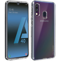 SAMSUNG Coque Samsung Galaxy A40 Protection Souple Originale Samsung Transparent