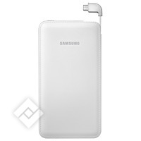 SAMSUNG POWERBANK 6000MAH WHITE