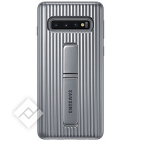 SAMSUNG PROTECTIVE STANDING COVER SILVER GALAXY S10 PLUS