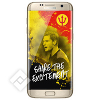 SAMSUNG GALAXY S7 EDGE GOLD RED DEVILS PACK