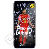SAMSUNG S8 PLUS SILVER + RED DEVILS SMART COVER
