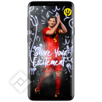 SAMSUNG GALAXY S9 PLUS BLACK +  RED DEVILS SMART COVER