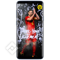 SAMSUNG GALAXY S9 PLUS BLUE + RED DEVILS SMART COVER