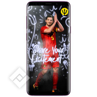 SAMSUNG GALAXY S9 PLUS PURPLE + RED DEVILS SMART COVER