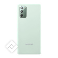 SAMSUNG SILICONE COVER  GREEN NOTE 20
