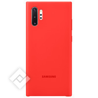 SAMSUNG SILICONE COVER RED FOR NOTE 10PLUS