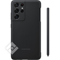 SAMSUNG SILICONE COVER S21U BLACK WITH S PEN